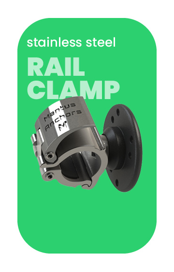 Mantus Stainless Rail Clamps